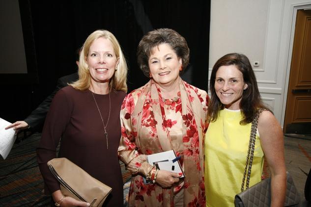 Menninger Luncheon, May 2015, Jennifer Wilson Brown, Barbara Robertson, Molly Khalil