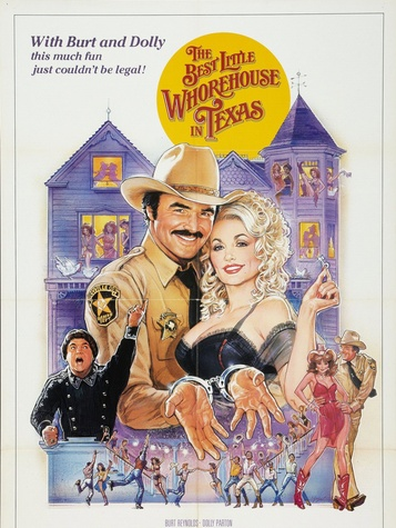 poster for Best Little Whorehouse in Texas