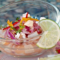 Ceviche at Nazca Kitchen in Dallas
