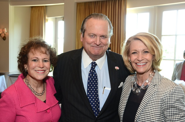 142 Regina Rogers, from left, Patrick Oxford and Judy Black at the Houston Center for Contemporary Craft spring luncheon May 2014