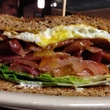 Egg sandwich at Jonathon's Oak Cliff restaurant