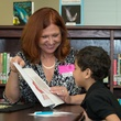 News, Shelby, AdvoCare reading event, August 2014, Catherine Schwamback