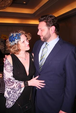 "Shannon and Jason Scarcella at Crossroads School's ""Superhero Soiree"" Gala February 2015"