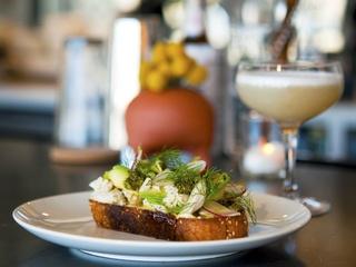 Launderette Crab Toast