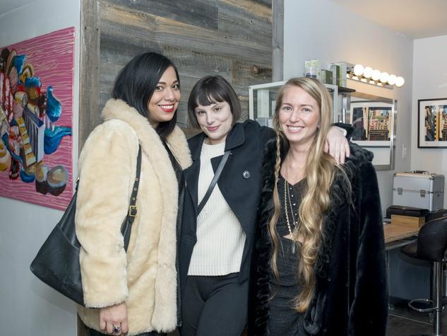 Ariella Villa, Melissa McQueen, Sierra Sintic, Dear Clark 7 year party