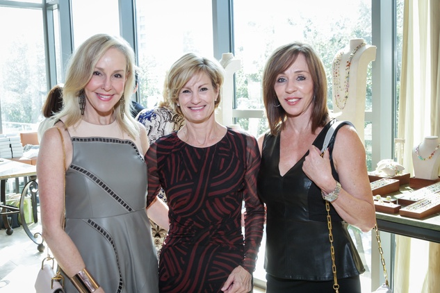 News, Shelby, Dec My Room luncheon, Oct. 2015  Sheree Frede, Jan Bailey, Barbi Clariday