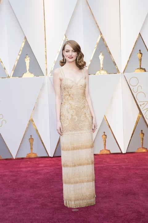 Emma Stone Oscars 2017 in Givenchy