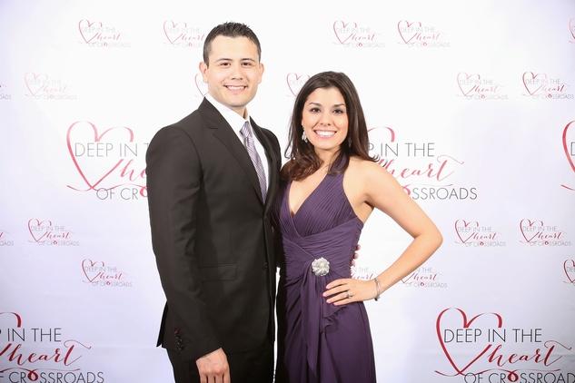 Orlando and Cindy Castaneda at the Crossroads Gala June 2014