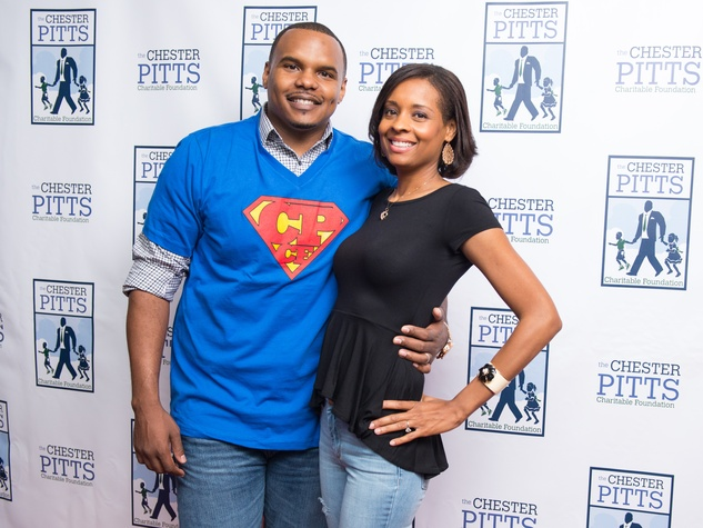 Chester Pitts Bowling event Chester & LaToya Pitts