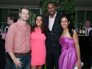 014_Party in Pink, Hotel ZaZa, July 2012, Chris Garner, Jamie Pottorf, Dell Cartier, Mirta Padilla