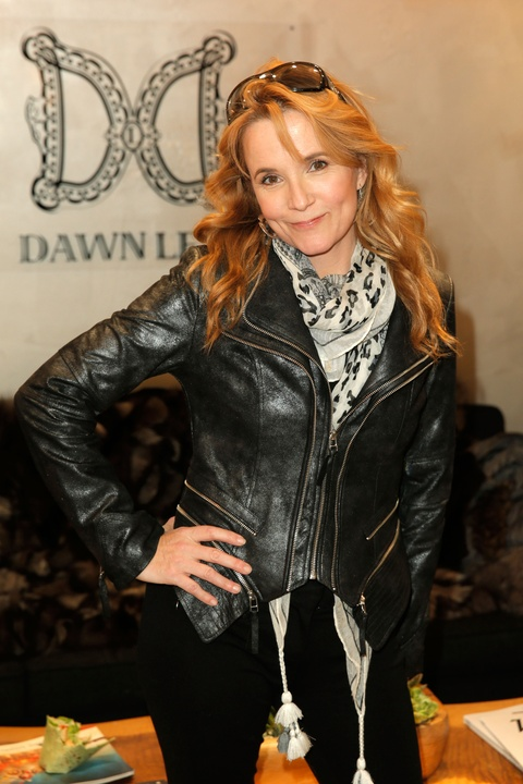 2 celebs at Sundance January 2014 Lea Thompson
