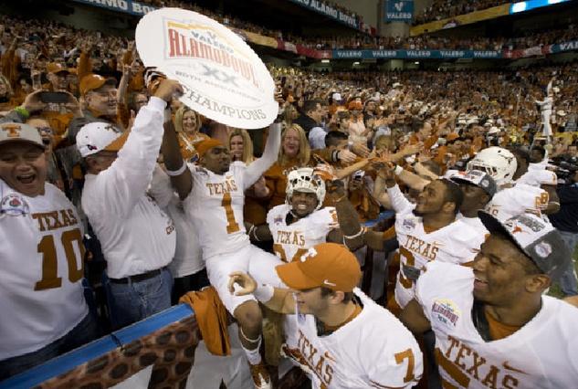 Texas Longhorns, Oregon State, Alamo Bowl