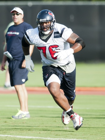 Duane Brown Texans running
