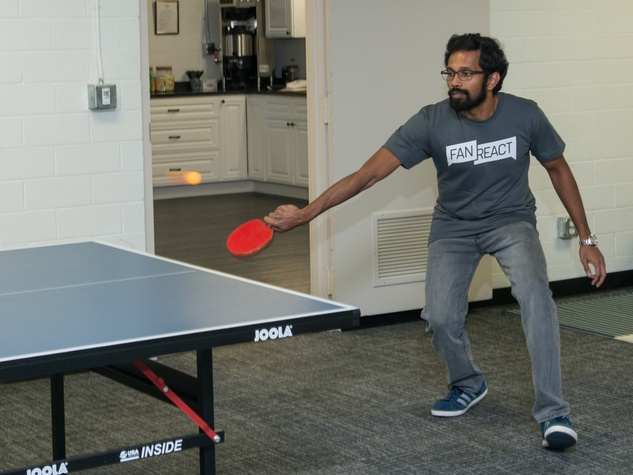 Houston, Founders Fest, November 2017, ping pong