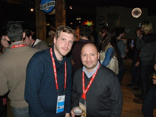 Alfred Cervantes, Bastian Gunter, Sundance Film Festival, Texas party