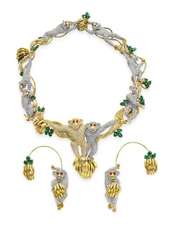 News_monkey jewelry_Elizabeth Taylor collection_Baron and Baroness di Portanova_from Michael Jackson