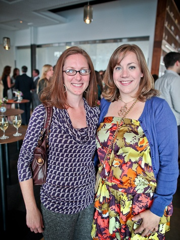 Triniti Mercury spring dinner, April 2013, Lindsey Brown, Claire Brown
