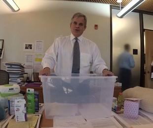 Mayor Steve Adler Hurricane Harvey kits