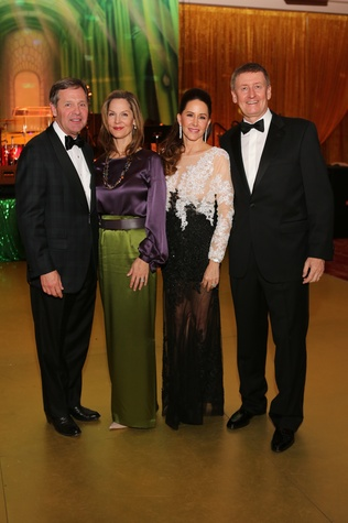 Paul and Katherine Murphy, from left, and Liz and Tom Glanville at the Houston SPA Society for the Performing Arts Gala March 2015