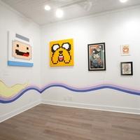 Mondo Gallery interior Adventure Time