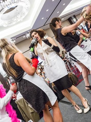 Ashley Burghardt, Celebrity Waiter Luncheon, The Joule