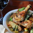 Frank's Americana Revival pan-roasted chicken with wine