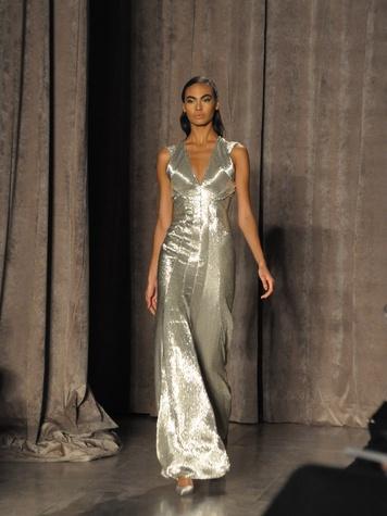 11 Emmie Ko Fashion Week New York fall 2015 Zac Posen February 2015