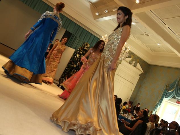 Pratham Holiday Party models 2