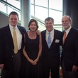 Frank Tucker, from left, Stephanie and Brad Tucker and Brady Lum at the Brookwood luncheon April 2014