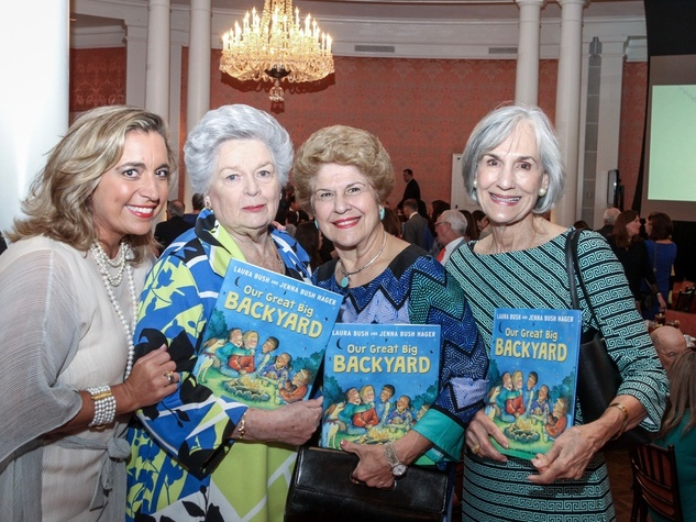 Mental Health Association luncheon, 9/16 Patty Dominguez, Barbara Coleman, Pat Banfill and Dolores Warner