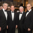 Karl Stern, from left, Christopher Gardner; Rich Kinder and Gary Tinterow at Museum of Fine Arts Houston MFAH One Great Night November 2014
