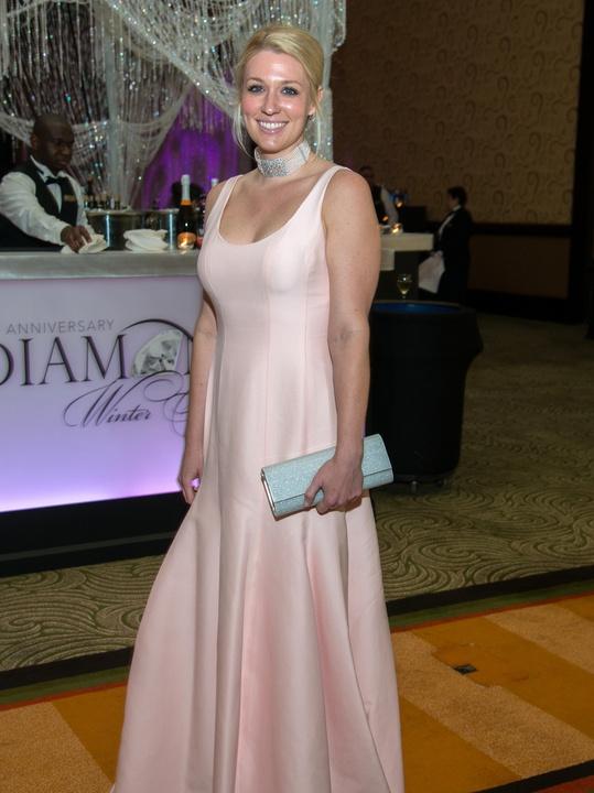 Houston, Women of Distinction fashionable gowns, Feb 2017, Christina Stith