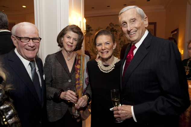 19 Rodney and Judy Margolis, from left, and Dede and Connie Weil at the Houston Symphony Ball kickoff party November 2013