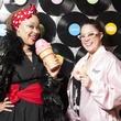 Claudia Melton, Stacie Wainscott, The Motion Band, Birthday Party Project Turns three