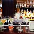 Alamo Drafthouse cocktail display