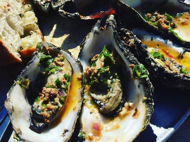 Roasted oysters on Instagram preview what's to come. Nobieshtx ...
