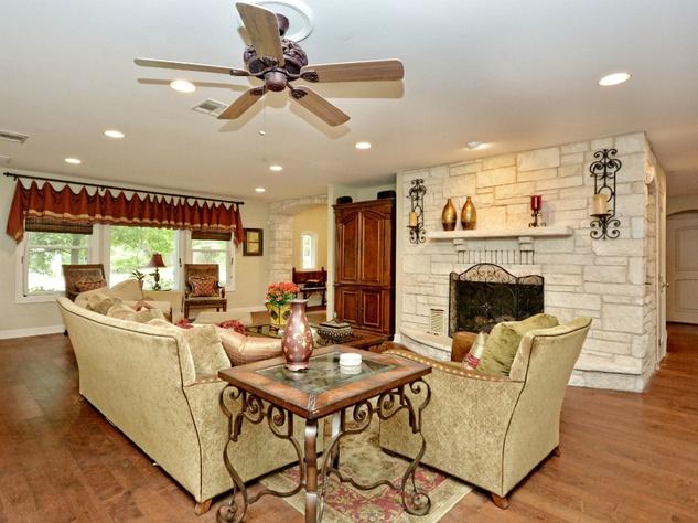 Rollingwood home_West Austin house_3206 Park Hills_Hatley Park Acres_78746_living room fireplace_2015