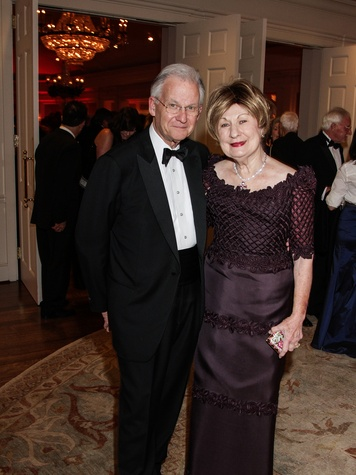 Harry and Cora Sue Mach at the Huffington Center on Aging Gala November 2013