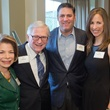 5 Joyce and Dr. Eric J. Haufrect, from left, and Lance and Cara Berkman at the Houston Methodist Luncheon September 2014