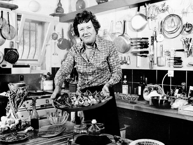 Julia Child, chef, kitchen