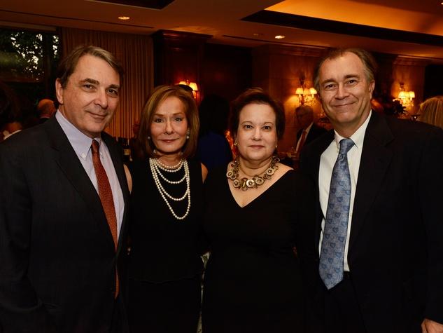Mark Wawro, from left, Melanie Gray and Vicki and David Sharp at Masterpiece Evening April 2014