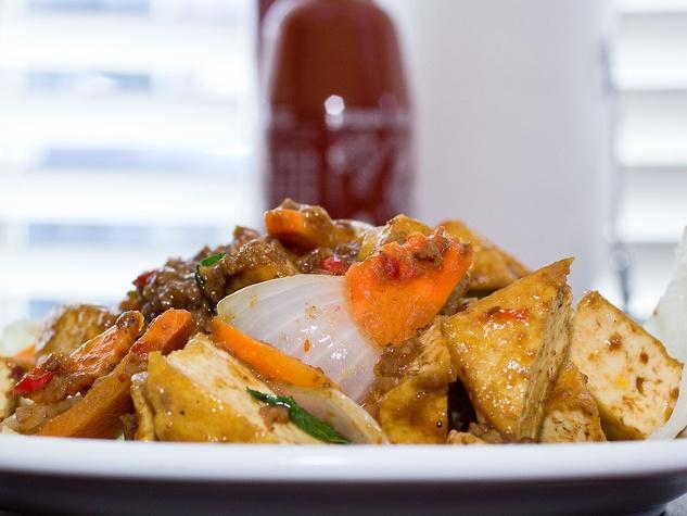Sykamore Thai basil tofu