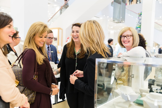 Guests at Katie Design party at Neiman Marcus