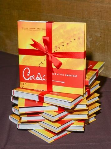 3 The cookbooks at the Cordua cookbook event November 2013