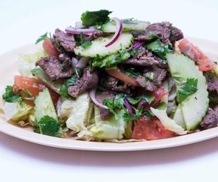 Thai Restaurant beef Thai salad