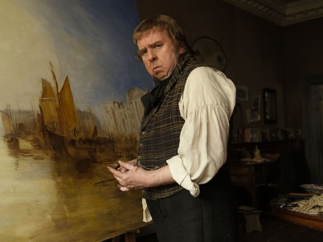 Timothy Spall in Mr. Turner