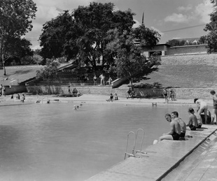 Deep Eddy Pool in Austin