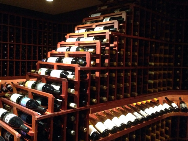 Houston, March 2016, Nos Caves Wine Storage promo story, wine rack