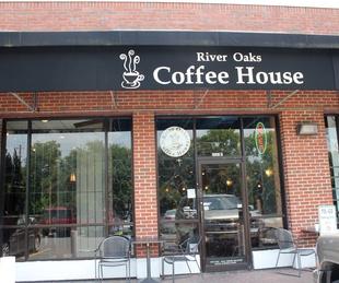 River Oaks Coffee House, Exterior, June 2012
