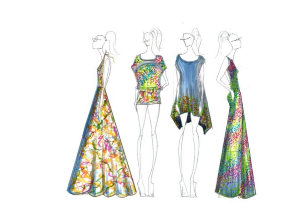Cesar Galindo Czar inspiration sketch New York Fashion Week spring 2016